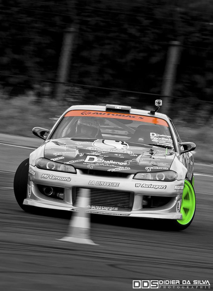Autoworks Festival 2011 - Bourget - Tony Jouin Nissan 200sx S15 Drift Car W Autosport.jpg