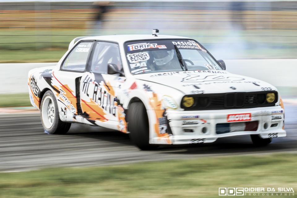 CDF 2014 Round 3 Croix en Ternois - Backward - Nicolas Delorme BMW E30.jpg