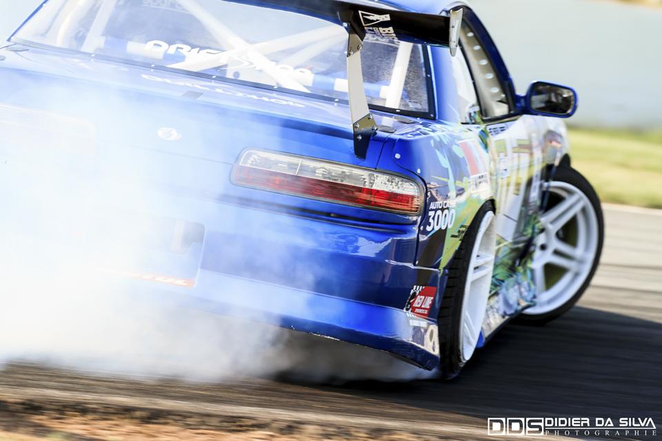 CDF 2014 Round 3 Croix en Ternois - Mike Kauffmann Nissan 200Sx PS13.jpg