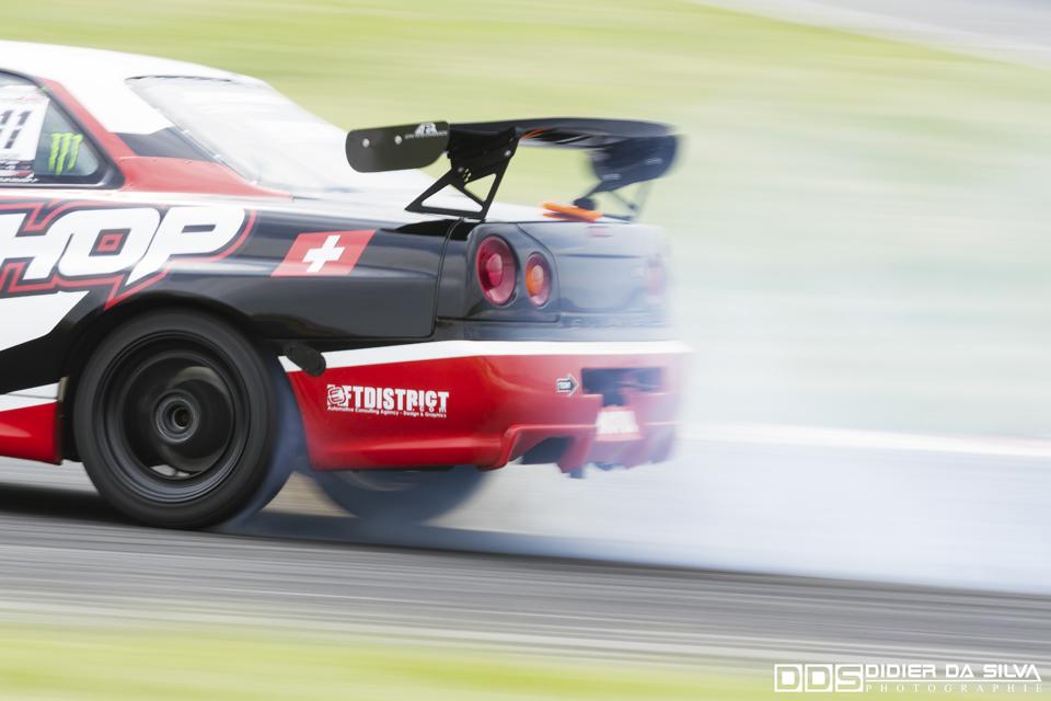 CDF 2014 Round 3 Croix en Ternois - Nicolas Maunoir Nissan Skyline R34.jpg