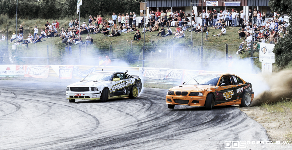 CDF 2014 Round 5 Essay - Laurent Cousin BMW E46 Terence Cars Vs Raff Zanato Ford Mustang Speedshop Racing.jpg