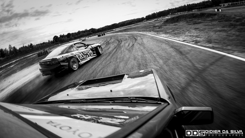 Enjoy the Ride More - Salbris - Thomas Kedra Takumi Toyota Trueno AE86 Drift Car Lazy Drifters Vs Antoine Amar Nissan 200sx RS13 Drift Car Team SRG.jpg