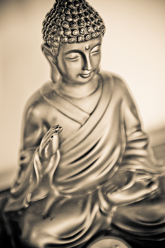 Zen attitude Bouda