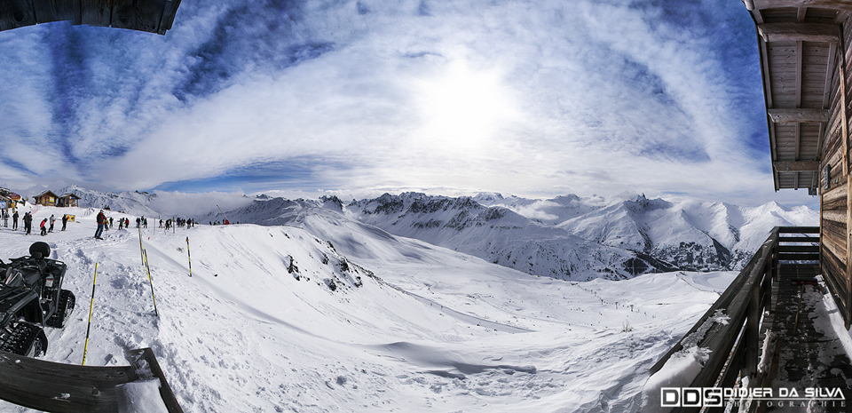 Panorama du Crey du Quart - Valloire - France