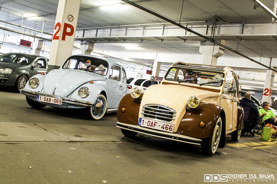 Meeting Anderlecht 2012 Old Citroen 2CV et Volkswagen Cox.jpg