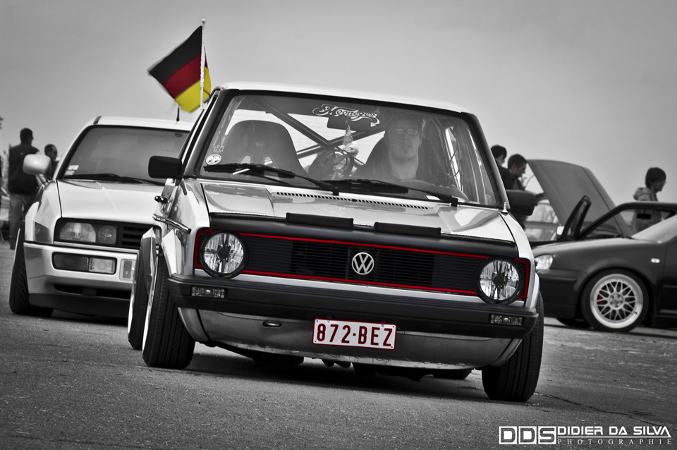 Meeting de Ciney 2010 Volkswagen Golf 1 german look.jpg