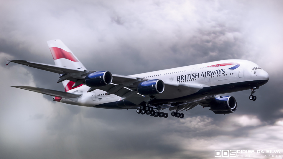 Paris Le Bourget 2013 - Airbus A380 British Airways.jpg