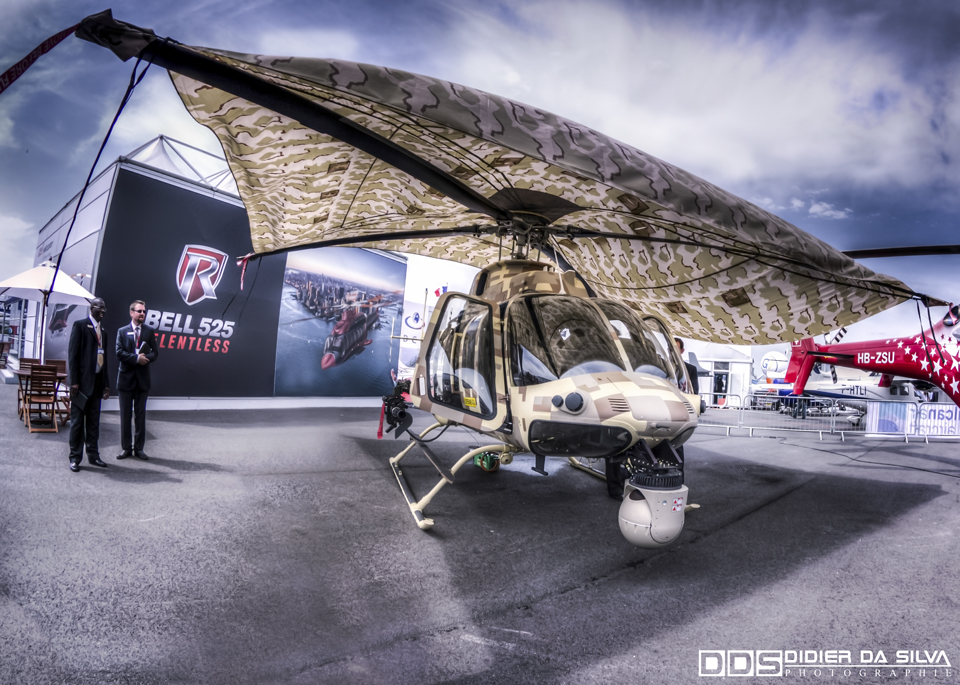 Paris Le Bourget 2013 - Bell 407 GT Army.jpg