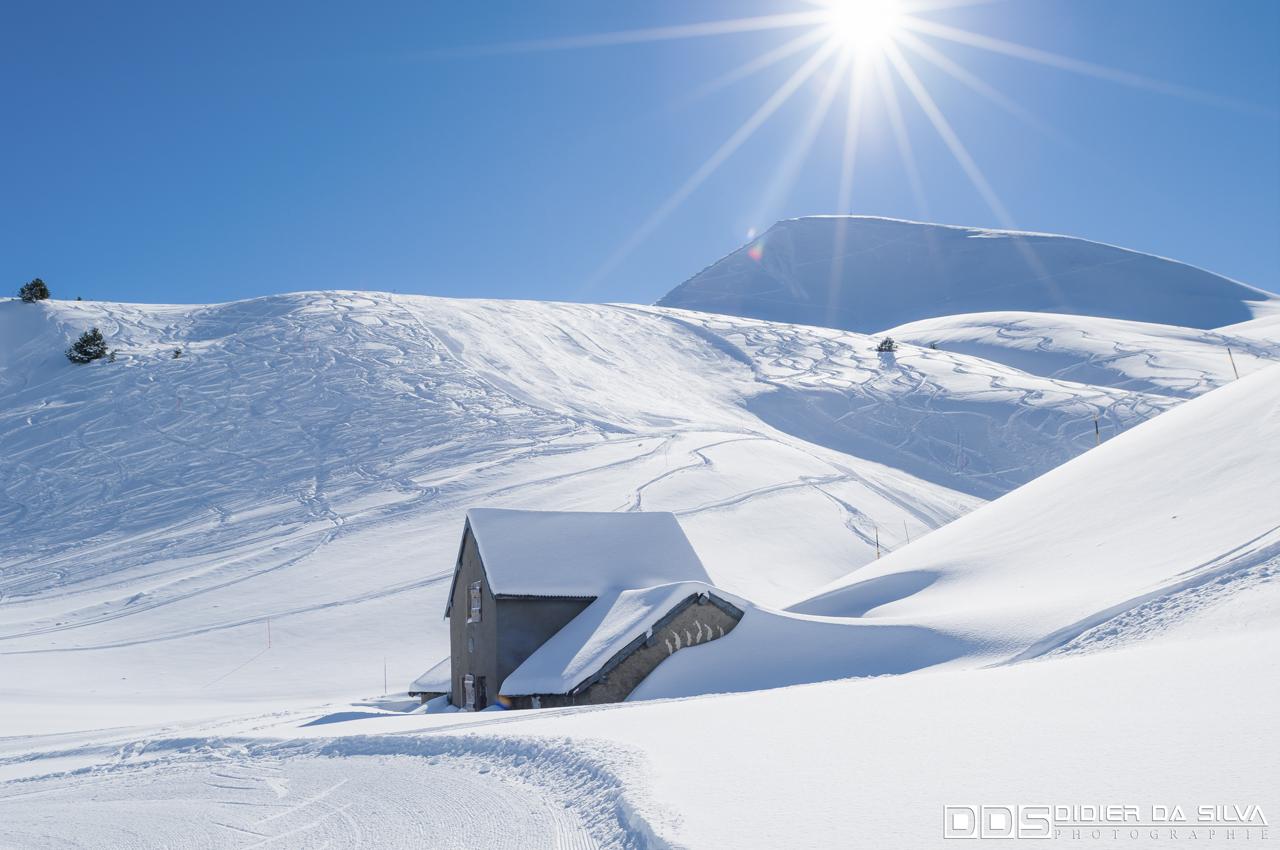 Station Alpe du Grand Serre