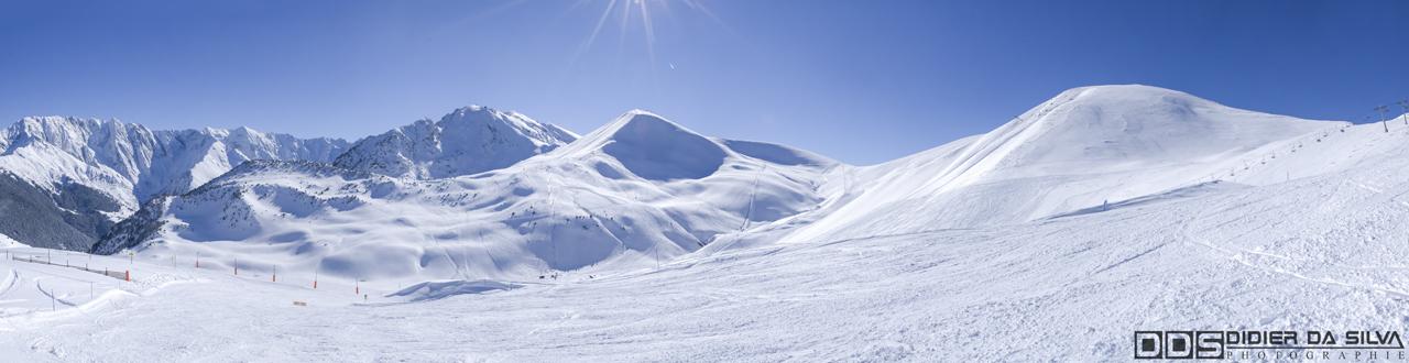 Panorama alpe du grand serre