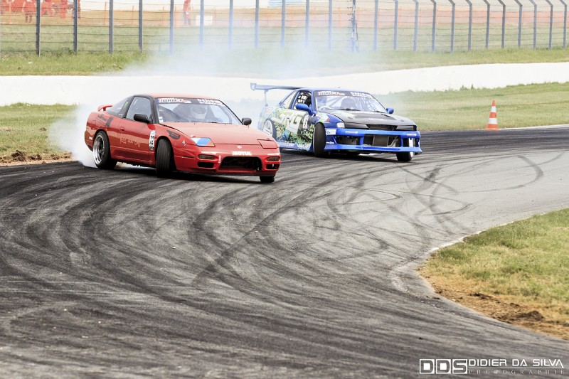 Battle TOP16 Florent Mathieu Nissan 200Sx RS13 Vs Mike Kauffmann Nissan 200Sx PS13