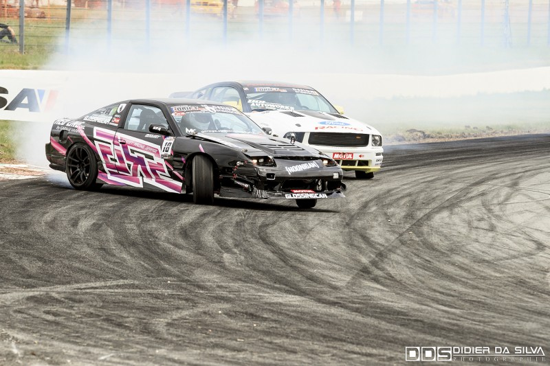Battle TOP16 Antoine Amar Nissan 200Sx RS13 Vs Raff Zanato Ford Mustang