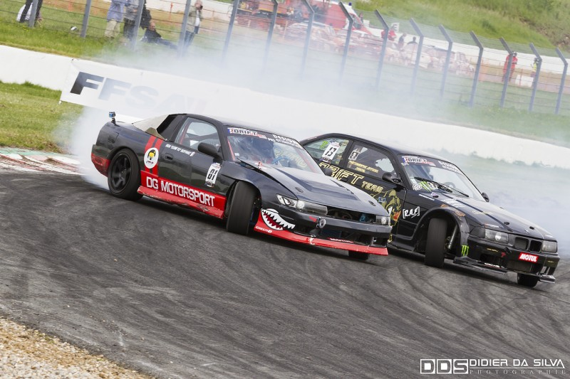 Battle TOP16 Benjamin Boffard Nissan 200Sx RS13 Vs Yvon Buisson BMW E36
