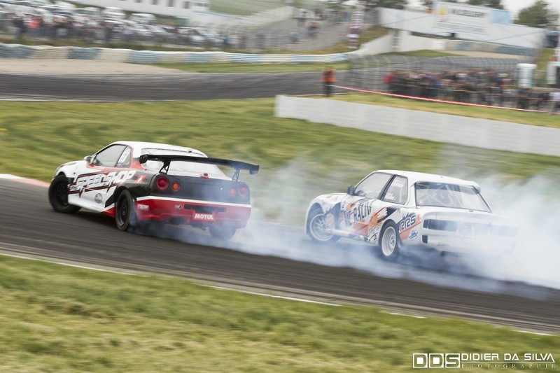 Battle TOP16 Nicolas Maunoir Nissan Skyline R34 Vs Nicolas Delorme BMW E30