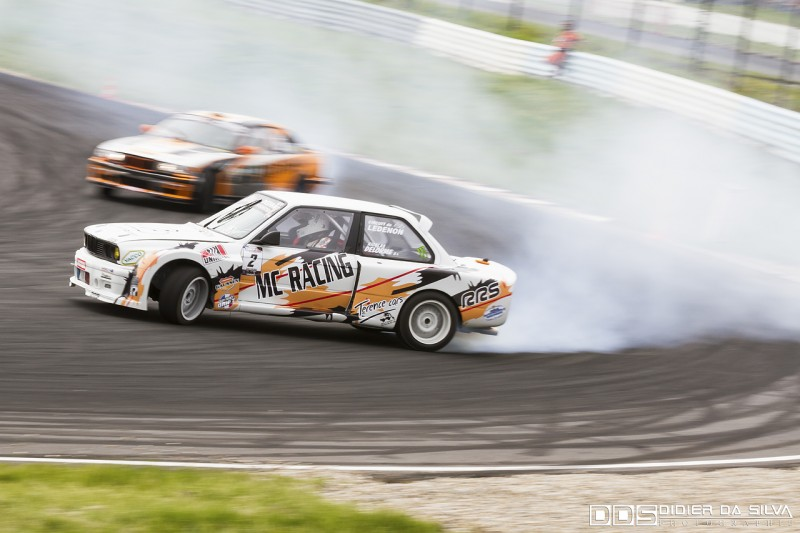 Battle TOP8 Nicolas Delorme BMW E30 Vs Jocelin Janin BMW E36