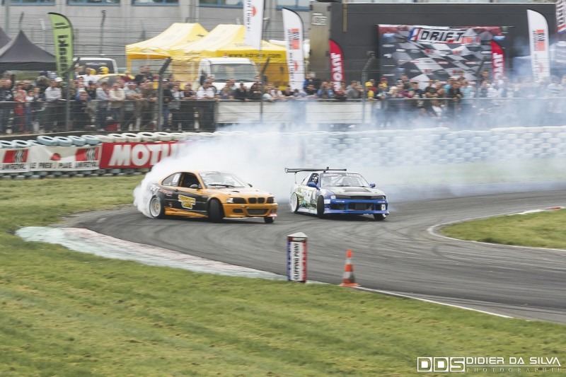 Battle TOP4 Laurent Cousin BMW E46 Vs Mike Kauffmann Nissan 200Sx PS13