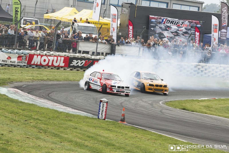 Finale battle Laurent Cousin BMW E46 Vs Benjamin Boulbes BMW E36
