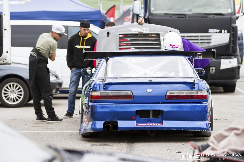 Les coulisses de la Nissan 200Sx PS13 de Mike Kauffmann