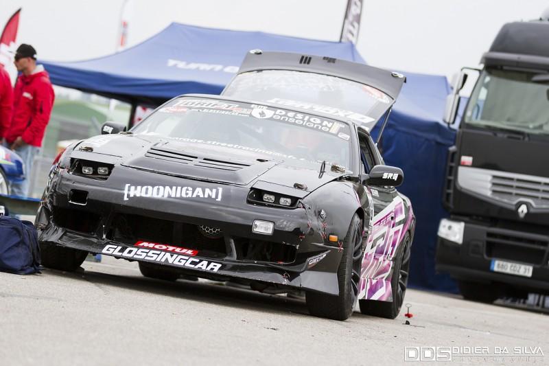 Les coulisses d'Antoine Amar avec sa Nissan 200Sx RS13
