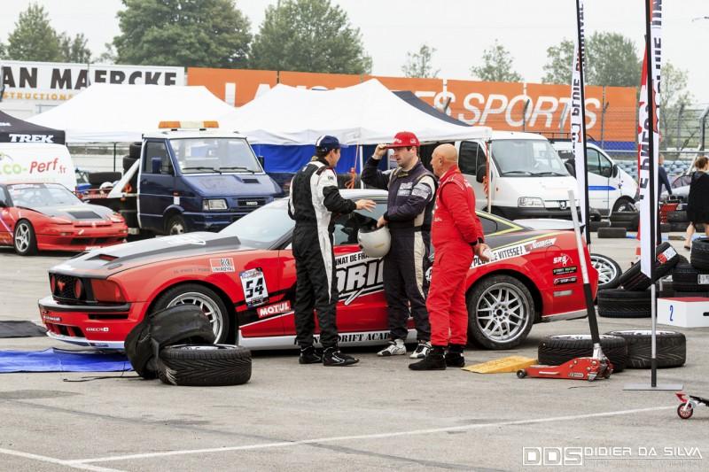 Préparation Julien Febreau championnat de france de drift