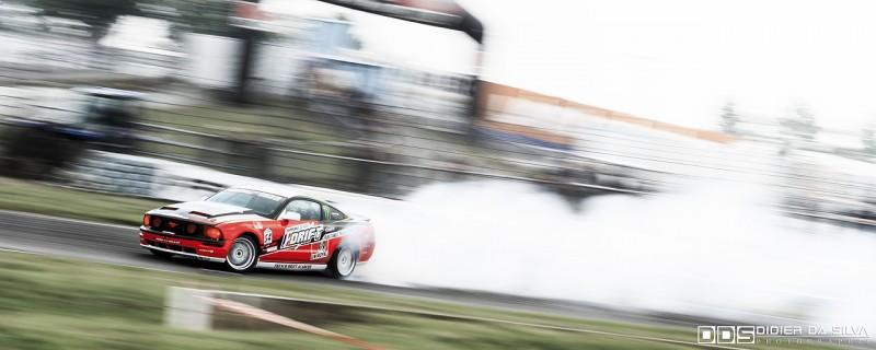 Julien Febreau au volant de la Ford Mustang du CFD