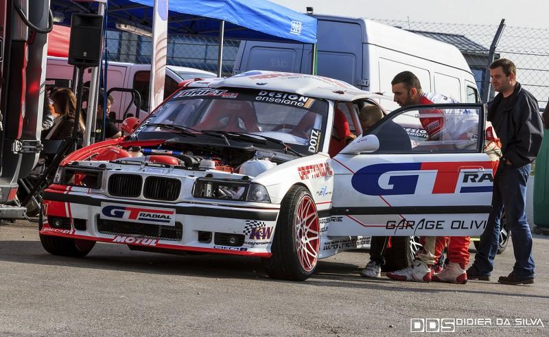 Préparation au roulage libre Benjamin Boulbes BMW E36