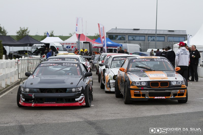Avant competition championnat de france de drift
