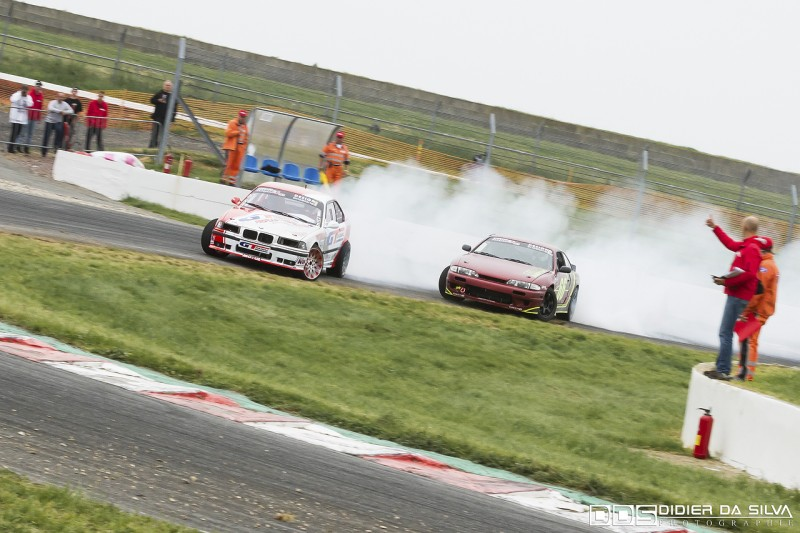 Battle Benjamin Boulbes BMW E36 Vs Clément Aviles Nissan 200Sx S14