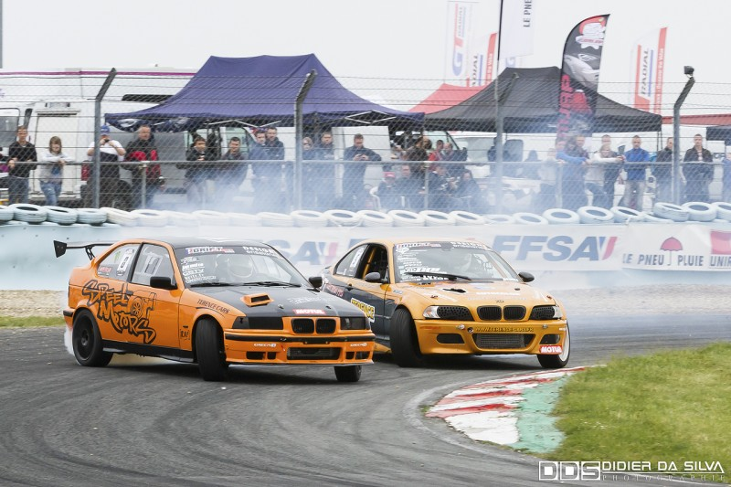 Battle Jocelin Janin BMW E36 Vs Laurent Cousin BMW E46