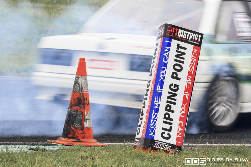 Clipping point championnat de france de drift ft district