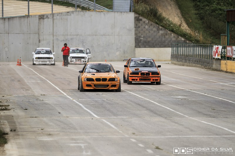 Startline round 5 2014 - Laurent Cousin BMW E46 Vs Romain Soucasse BMW E36