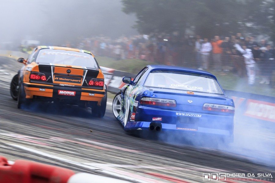 CDF Round 6 - Battle Mike Kauffmann Nissan 200Sx PS13 Vs Jocelin Janin BMW E36