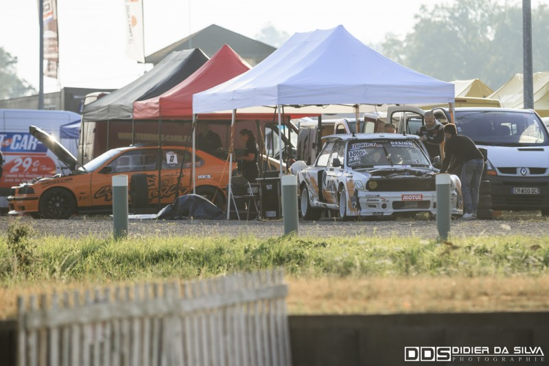 Levé de soleil sur le circuit d'Essay championnat de france 2014