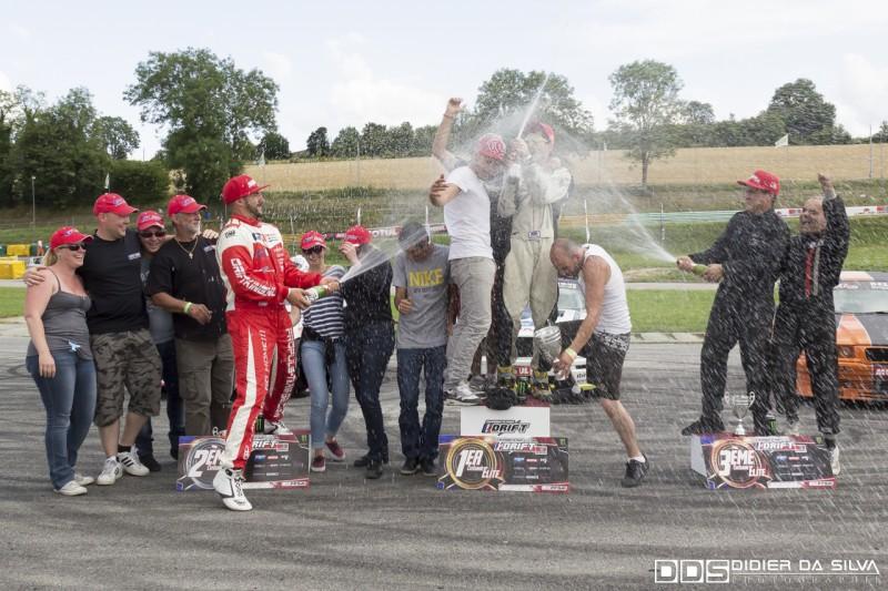 Podium du round 5 à Essay championnat de france 2014