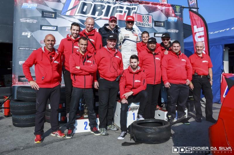 Staff et VIP du round 3 à Croix en Ternois championnat de france 2014