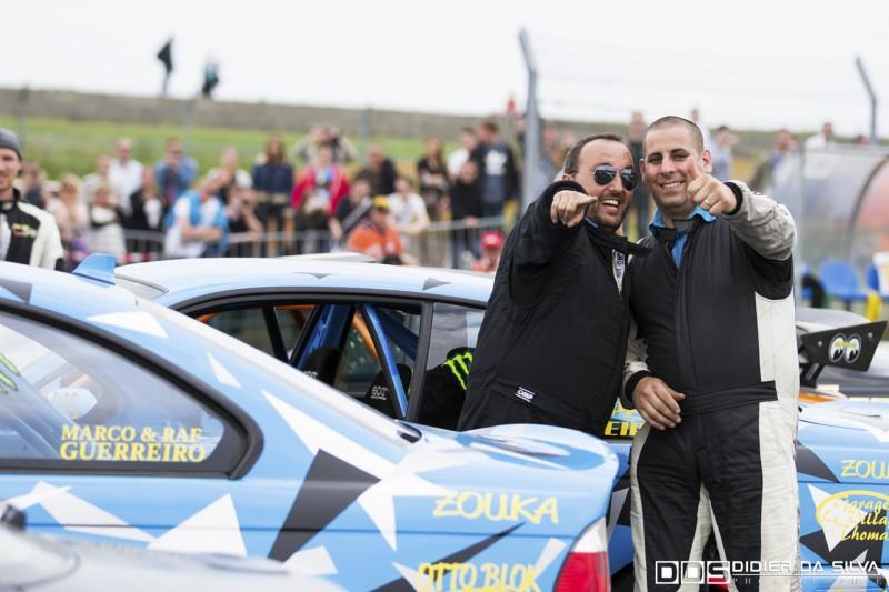 Philippe Ferreira et Marco Guerreiro