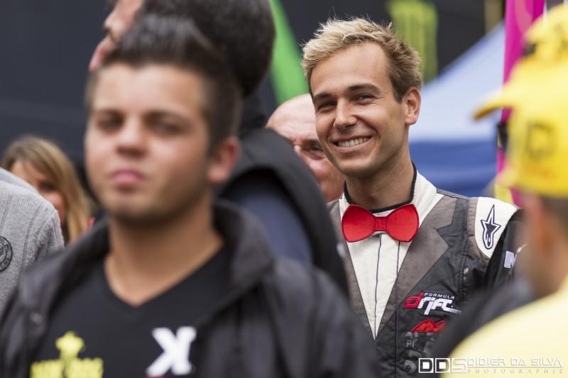 Matt Powers pilote VIP du round 6 à Chamrousse Championnat de France de Drift